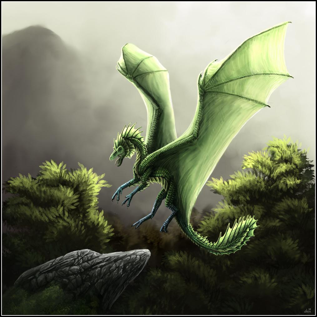 Earth Dragon: Little Green