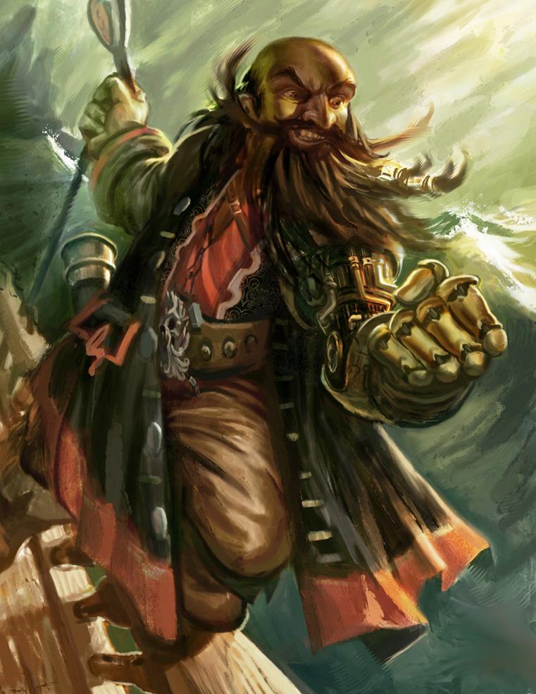 Half Orc Portrait The Crusty Dodger - EL...