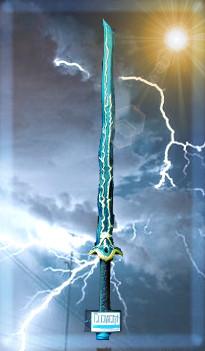 the elemental sword of air element
